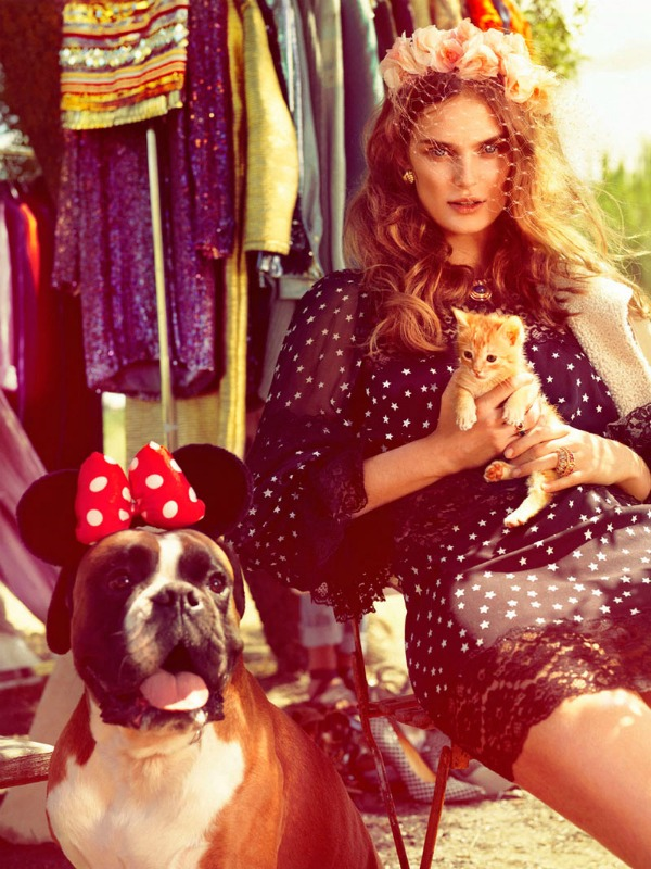 58 Vogue Spain: Letnji osećaj