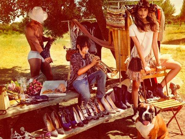 65 Vogue Spain: Letnji osećaj