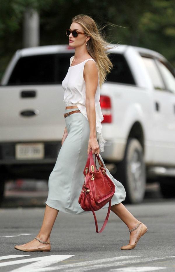 89 Street Style: Rosie Huntington Whiteley