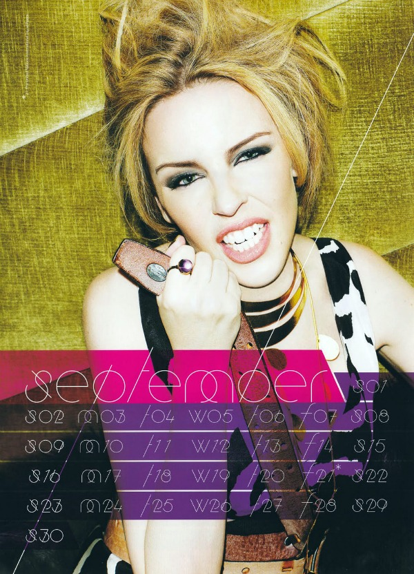 91 Kylie Minogue u kalendaru: Moćna Afrodita