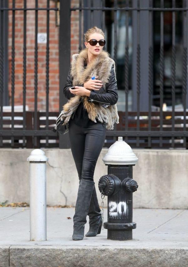96 Street Style: Rosie Huntington Whiteley