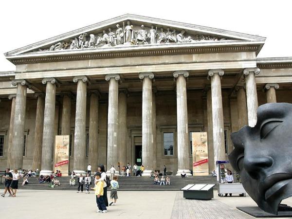 BritishMuseumFront Najposećeniji muzeji sveta