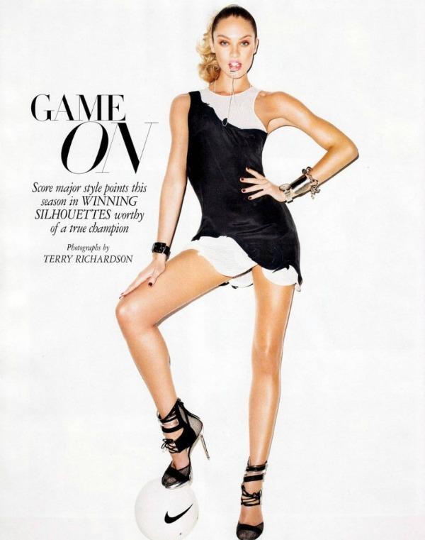 Candice Swanepoel Harpers Bazaar Editorial 1 793x1024 Harpers Bazaar US: Neka igre počnu