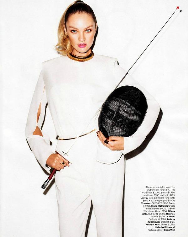 Candice Swanepoel Harpers Bazaar Editorial 2 Harpers Bazaar US: Neka igre počnu
