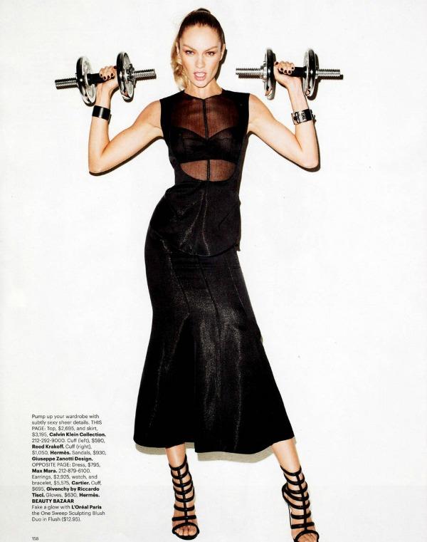 Candice Swanepoel Harpers Bazaar Editorial 8 Harpers Bazaar US: Neka igre počnu