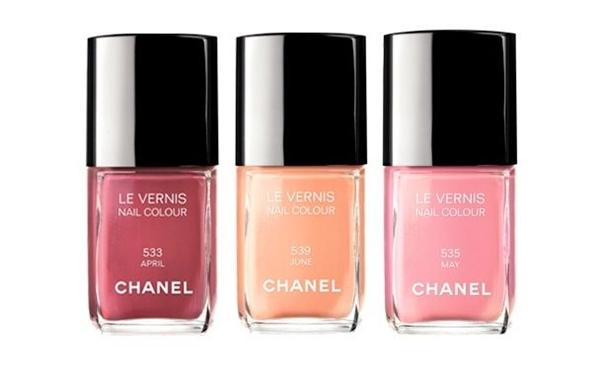Chanelspring2012nail Modni zalogaji: Prolećni lakovi i mačija šminka