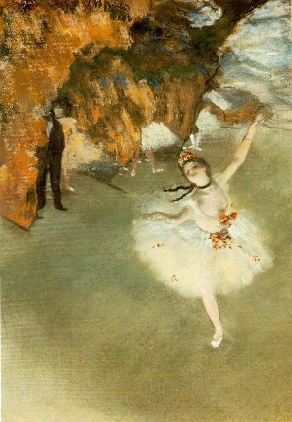 Druga slika Balerine na platnu