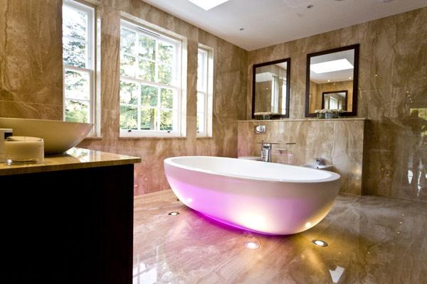 Hill View Bathroom I 16 Blanca Sanchez: Kupatila koja će vas opčiniti