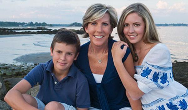 Keti sa decom Nikol i Dejvidom Stil moćnih ljudi: Kathy Giusti, nepokolebljivi borac