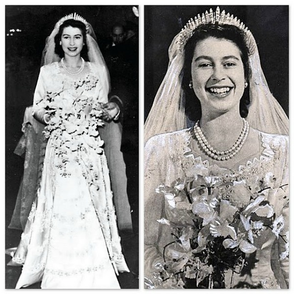 Kraljica Elizabeta II na svom vencanju1 Stil moćnih ljudi: 60. dijamantski jubilej   bakuta je neuništiva