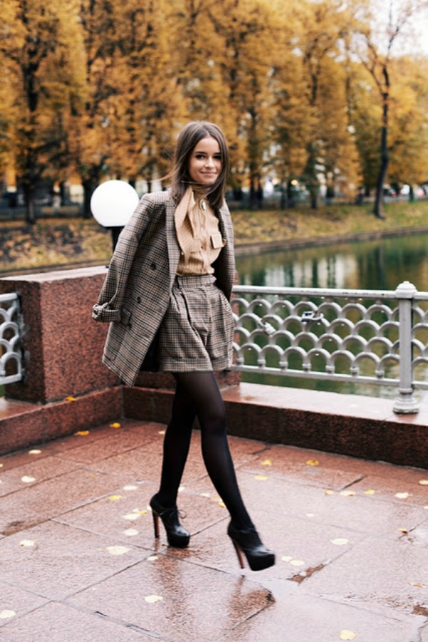 Miroslava Duma russian freelance writer Street Style: Miroslava Duma