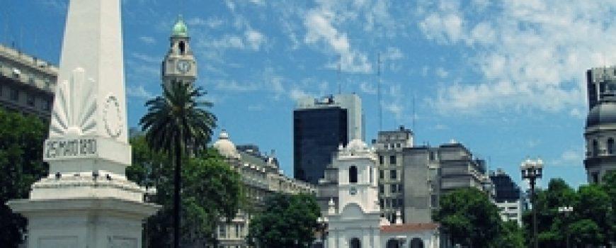 Trk na trg: Plaza de Mayo, Buenos Ajres