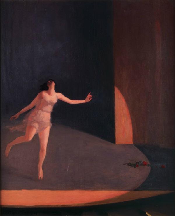Peta slika Balerine na platnu