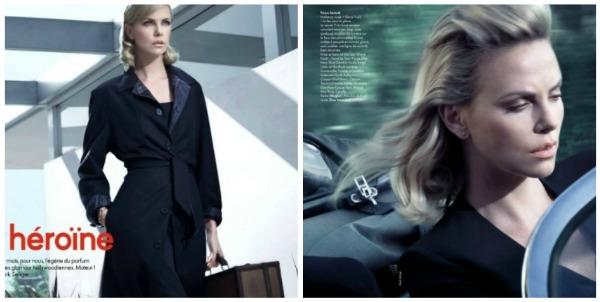 Picnik collage14 Heroina lepote: Charlize Theron za francuski Elle