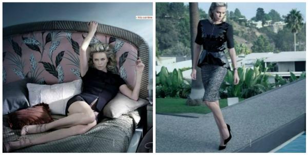 Picnik collage22 Heroina lepote: Charlize Theron za francuski Elle