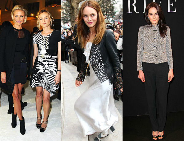 Picnik collageh1 Iz prvih redova: Nedelja mode u Parizu