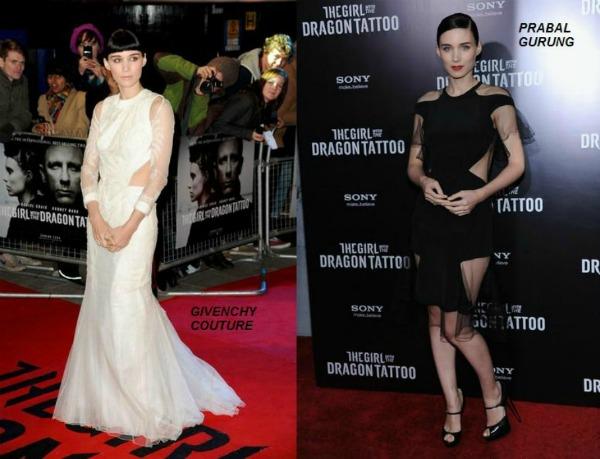 Rooney Mara in Givenchy Couture Modni zalogaji: Nova ikona stila i štikle za vojvotkinje