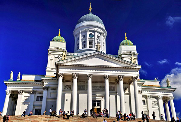 Slika 21 Trk na trg: Senaatintori, Helsinki