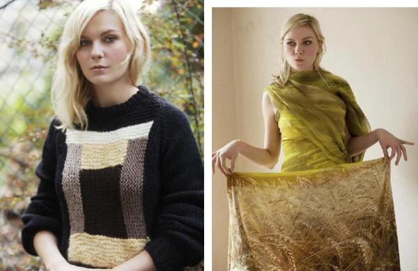 Slika 37 Rodarte: Kirsten Dunst u čeljustima mode