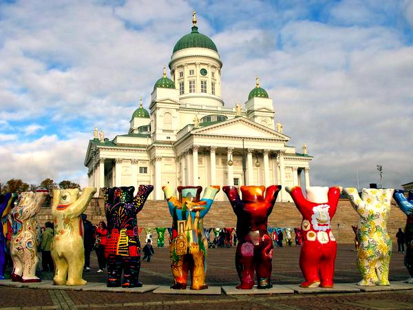 Slika 4 Trk na trg: Senaatintori, Helsinki