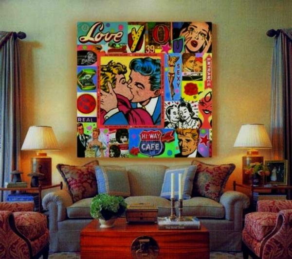 Slika110 Pop art u životnom prostoru