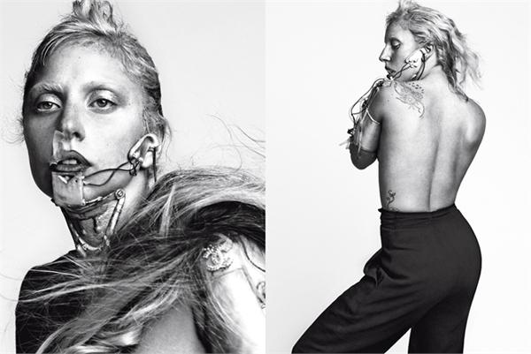 Zna kako da privu e pa nju i ako se ne uklapa u  ablon lepotica. LUomo Vogue: Lady Gaga na muški način