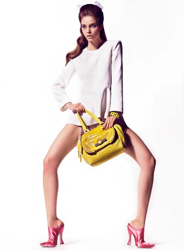 "barbara palvin2  ""Vogue Spain"": Barbara Palvin kao seks simbol"