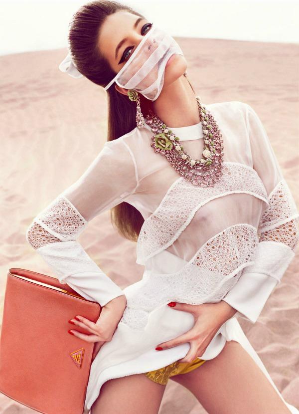 "barbara palvin6  ""Vogue Spain"": Barbara Palvin kao seks simbol"