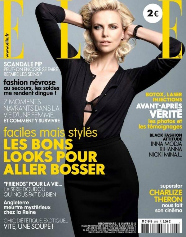 charlize theron1 Heroina lepote: Charlize Theron za francuski Elle