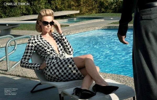 charlize theron11 Heroina lepote: Charlize Theron za francuski Elle
