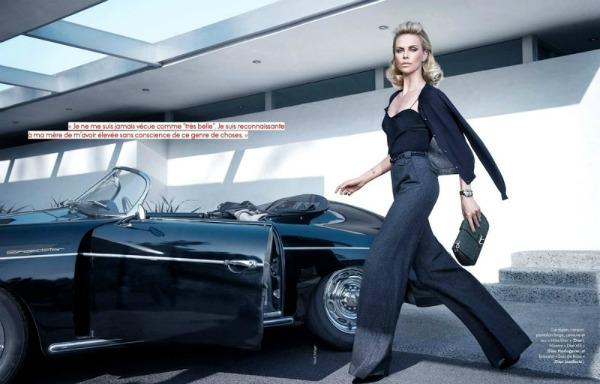 charlize theron5 Heroina lepote: Charlize Theron za francuski Elle