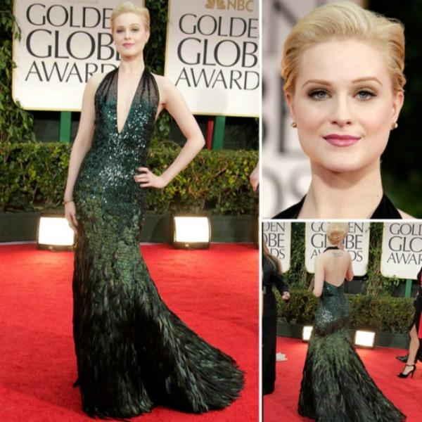 evanrachelwood Fashion Police: Zlatni globusi 2012