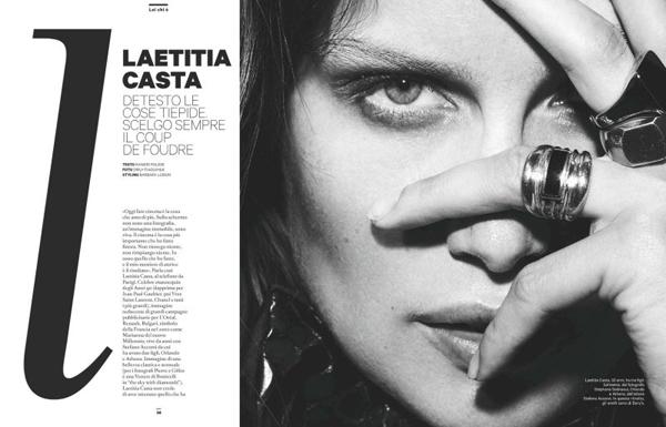 laetitia casta2 Amica: Zavodljiva Laetitia Casta