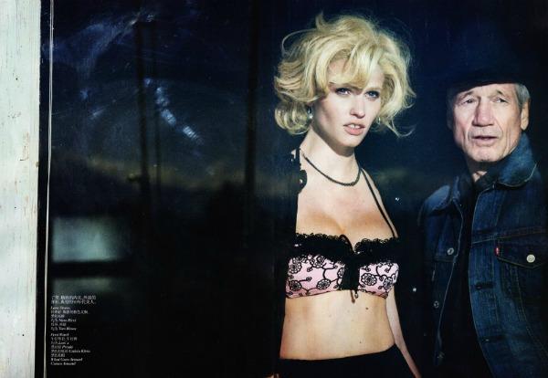 "lara stone3 ""Vogue China"": Lara Stone kao moderna Marilyn"