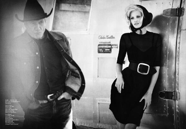 "lara stone7 ""Vogue China"": Lara Stone kao moderna Marilyn"