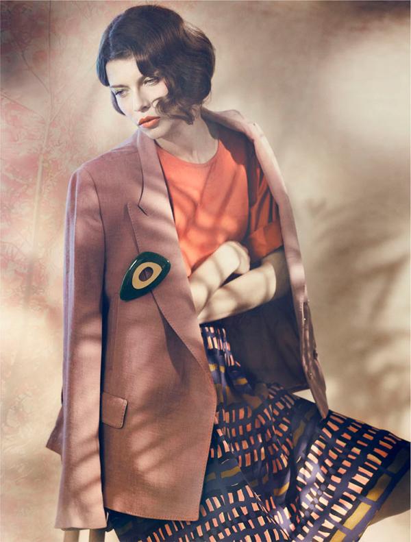 louise pedersen3 Elle Denmark: Uz note umetnosti