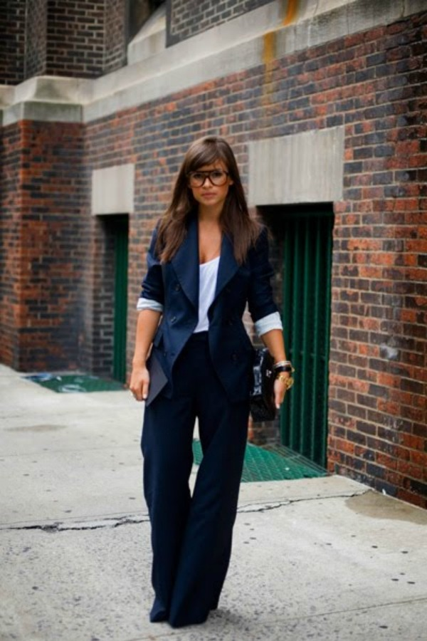 miroslava duma working girl style Street Style: Miroslava Duma