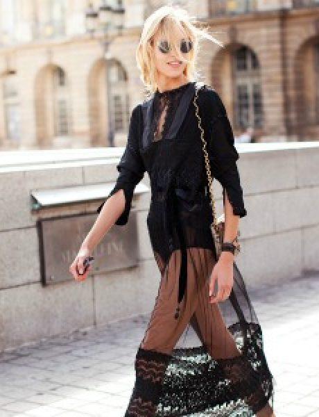 Street Style: Anja Rubik