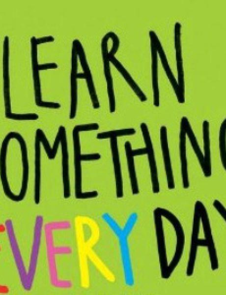 Nauči nešto novo svakog dana (1. deo)
