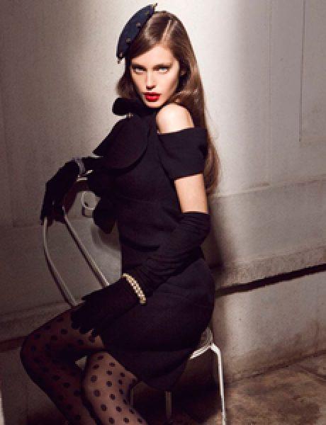 """""""Vogue Mexico"""": Dama u crnom"""