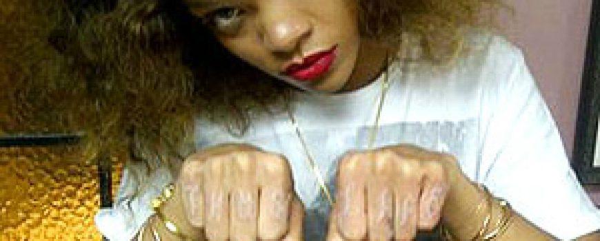 Trach Up: Rihanna ima novu tetovažu