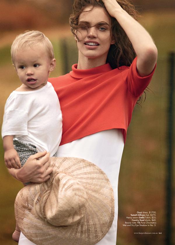 rianne ten haken4 Harper's Bazaar Australia: Na obali stila