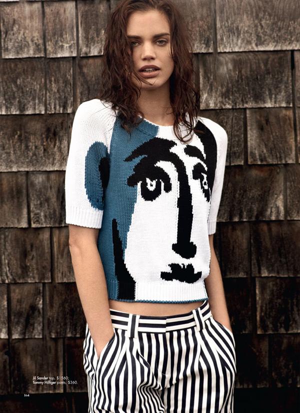 rianne ten haken5 Harper's Bazaar Australia: Na obali stila