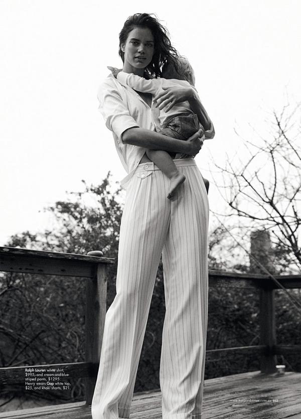 rianne ten haken6 Harper's Bazaar Australia: Na obali stila
