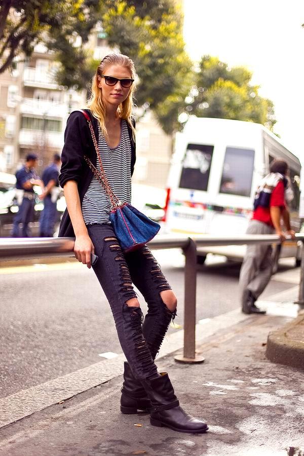 slika 16 Street Style: Aline Weber