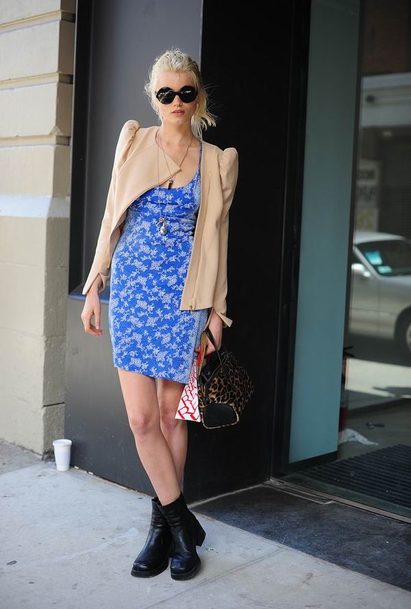 slika 27 Street Style: Abbey Lee Kershaw