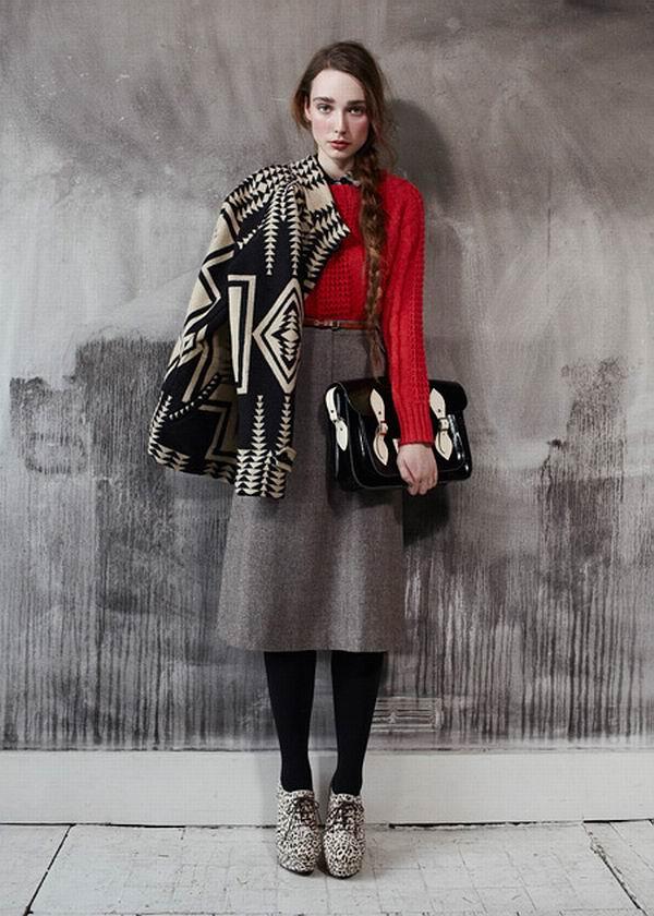 slika 46 Urban Outfitters: Crvena je boja ove zime