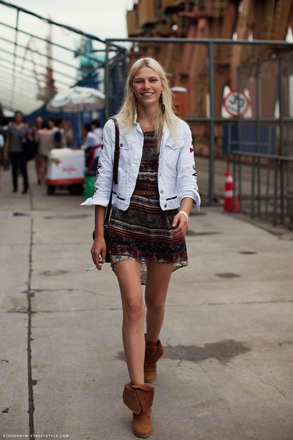 slika 6 Street Style: Aline Weber