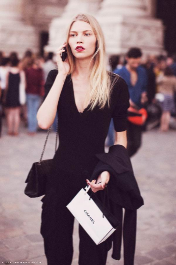 slika 7 Street Style: Aline Weber