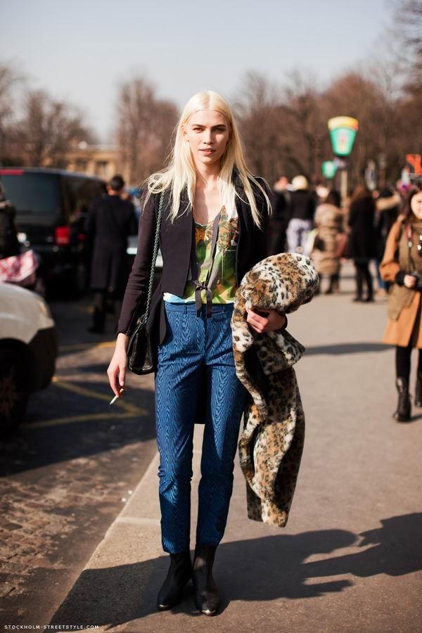 slika 9 Street Style: Aline Weber
